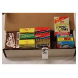 BOX WITH BOXES BASEBALL CARDS