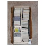 BOX MIXED SPORTS CARDS