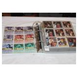 BOOK FULL OF BASKETBALL CARDS