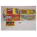 2-BOXES BASEBALL CARDS