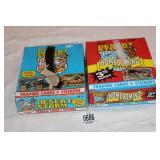 2-BOXES 1991 DESSERT STORM CARDS