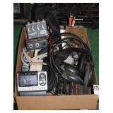 GUITAR PEDALS, SIRIUS RADIO, DIRECT BOX ETC.
