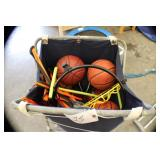 Lot of Basketballs w/acessories