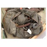 Bag w/ Baseball helmets