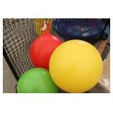 lot of 3 exercise balls