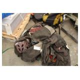 Bag of used catching equipment