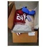 Box of Jersey, mat, foot excersise