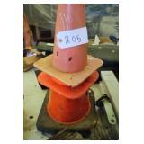 4 Traffic Cones