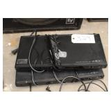 Set of 2 phillips dvd player