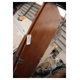 Set of 2 wooden shelving doors