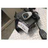 Radio Dispatch with Microphone Unit