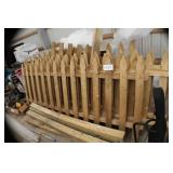 Lot of Fencing with post