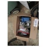 Series 8 Foot pump w/ box and contents