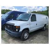 2012 Ford E250 Extended Cargo Van