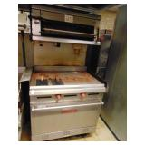 Vulcan Flat Grill Oven with Broiler