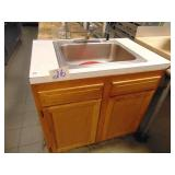 Sink Counter and Cabinet