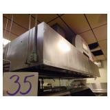 Exhaust Hood with Ansul system