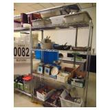 """Stainless Steel Shelving  48"""" x 18"""" x 6"""