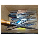 15 Knives and Sharpener