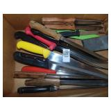 15 Knives and Sharpening Stone