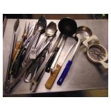 Ladles Spoons Serving Forks Tongs