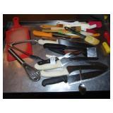 Kitchen Knives Spatulas Cutting Board
