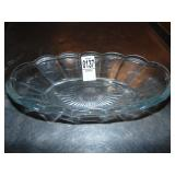 """10"""" Glass Boat Dishes 35 count"""