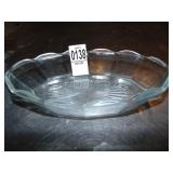 """8"""" Glass Boat Dishes 18  count"""