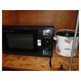 Sharp Carousel Microwave and Rival Crock Pot