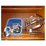 Chaffing Pan Frames and Sterno Lids