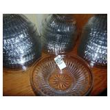 38 Clear Glass Bowls