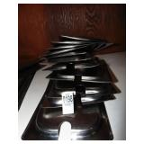 1/3 Size Steam Pan Lids 11 count