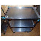 Stainless Steel 3 Tier Lakeside Model 422 Cart