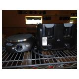 G E Hot Plate Rival Toaster and Cuisinart Toaster