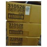 "Hunter Green Placemats 9.5"" x 13.5"""