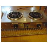 APW Double Burner Hot Plate