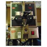 Cecil ware Coffee Dispenser and Warming Stand