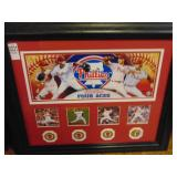 Limited Edition Phillies 24kt Gold Plated Medallio