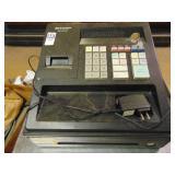 Sharp XE-A 107 Cash Register with keys