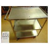 Vollrath 3 Tier Stainless Steel Cart model 97126