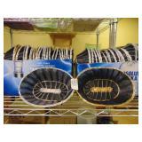 Wicker Baskets 5 Black/Gold 45 Black/Silver