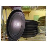 Oval Sizzler Platter Thermal Under liner 8 count