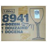 8.5 Oz Wine Glasses  11 count
