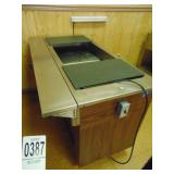 """Vollrath Refrigerated Table 60""""x 24"""" with drop"""