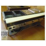 Servewell Steam Table model 38105  5 well 120v