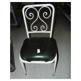 8 Metal Dinning Chairs