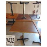 """Dinning Tables 29.5"""" x 29.5"""" 6 count"""