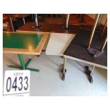 """2 Dinning Tables 30""""x48"""" and Wooden Table 42""""x30"""""""