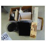 Office Supplies and 4 Piece Shelf