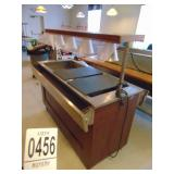 Duel Sided Refrigerated Buffet Table with Hood 4